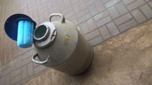 Охлаждение жидким азотом в минске