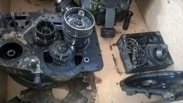 Ремонт КПП строительной техники